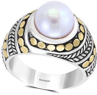 Effy Fine Jewelry 18K & Silver Pearl Ring