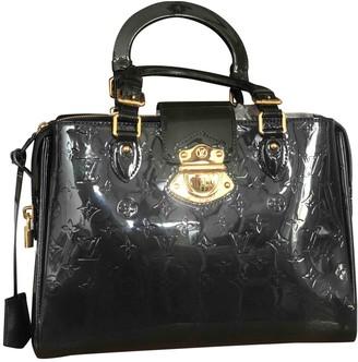 Louis Vuitton Melrose Navy Patent leather Handbags