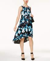 Alfani Printed High-Low Dress, Created for Macy's