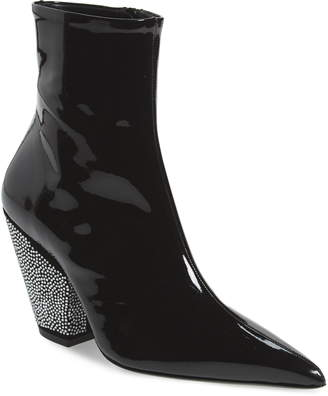 Simon Miller Pack Crystal Embellished Pointed Toe Bootie