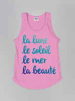 Junk Food Clothing Kids Girls La Lune Tank-kiss-m