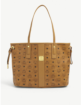 MCM Essential Visetos leather tote bag