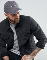 Jack Wills Enfield Baseball Cap Grey