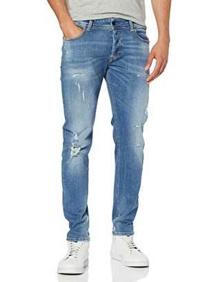 Diesel Men's Sleenker L.30 Trousers Skinny Jeans, Blue Denim 01, W32/L30 (Size: 32)