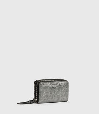 AllSaints Miki Lea Leather Cardholder