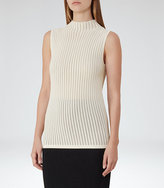 Reiss Mimi Open-Stitch Tank Top