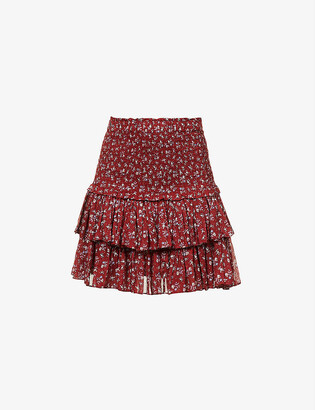 Etoile Isabel Marant Naomi floral-print cotton top