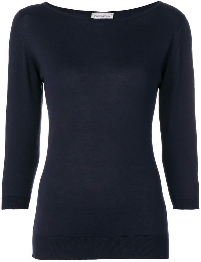 John Smedley Cassandra boat neck sweater
