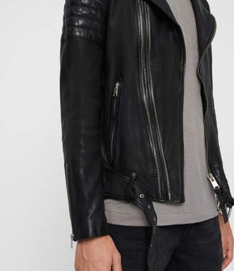 AllSaints Bolt Leather Biker Jacket