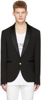 Pierre Balmain Black Single-button Blazer