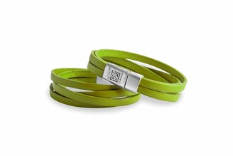 Dallaiti Design Unisex Silver Plated Identification Bracelet - BC145/21/L