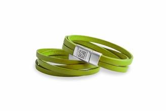 Dallaiti Design Unisex Silver Plated Identification Bracelet - BC145/21/S