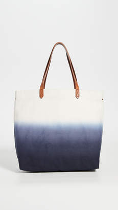 Madewell Canvas Transport Dip Dye
