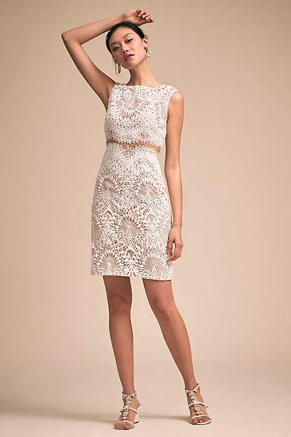 Anthropologie Sparks Fly Wedding Guest Dress