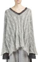 Maison Margiela Wool Mohair & Alpaca Sweater