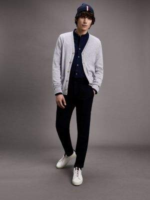 Tommy Hilfiger Wool Blend Regular Fit Cardigan