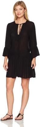 Vix Women's Black Agata Short Dress S