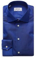 Eton Slim-Fit Micro Print Shirt