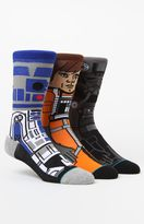 Stance x Disney Star Wars A New Hope Crew Sock Three Pair Set