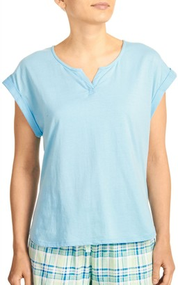 Karen Neuburger Women's Short Sleeve Tshirt Pajama Top PJ