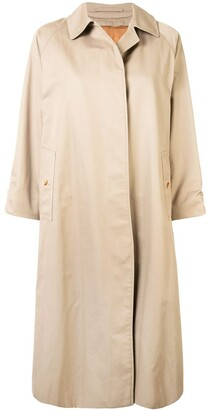 Burberry Pre-Owned Single-Breasted Trench Coat