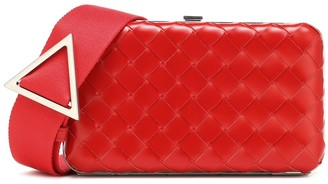 Bottega Veneta Intrecciato leather clutch