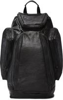 Julius Black Lambskin Backpack