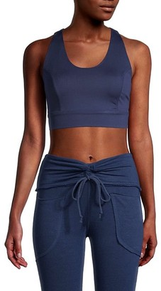 FREE PEOPLE MOVEMENT Scoopneck Cropped Top