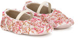 Baby Walker floral ballerinas