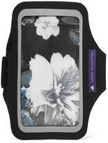 adidas by Stella McCartney Floral-print Scuba-jersey Arm Pouch - Black