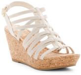 Rampage Josie Strappy Wedge Sandal