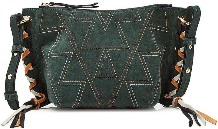 Isabel Marant Fangoh Mini Suede Shoulder Bag