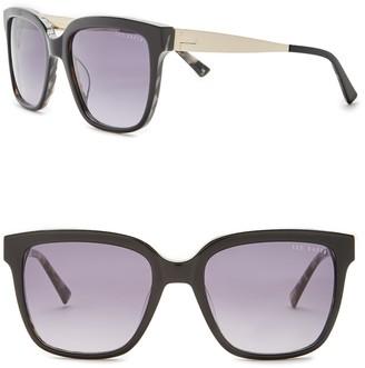 Ted Baker 55mm Acetate Frame Oversized Sunglasses