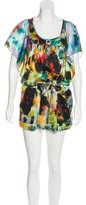 Ted Baker Abstract Printed Sleeveless Romper