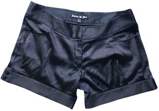 Jasmine Di Milo Black Silk Shorts for Women