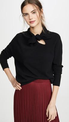 Brochu Walker Cleo Tie Cashmere Pullover