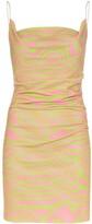 Maisie Wilen cowl neck tank mini dress