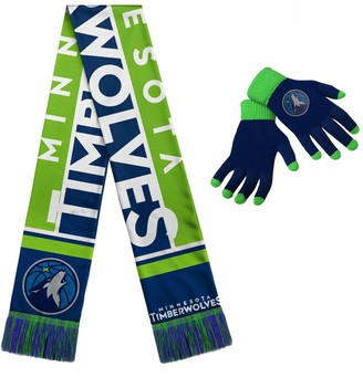 Minnesota Timberwolves Gloves & Scarf Set