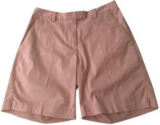 adidas Pink Cotton - elasthane Shorts for Women