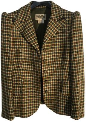 Hermes Green Cashmere Jackets