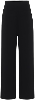 The Row Lucinda high-rise wide-leg pants
