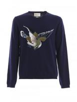 Gucci Bird & '25' Jacquard wool sweater