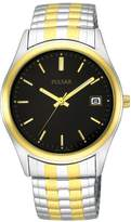Pulsar PXH428 Men's Two-Tone Expansion Wrist Watch