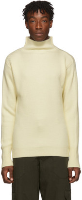 Barena Off-White Cimador Mock Neck Sweater