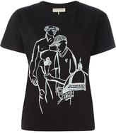 Emilio Pucci embroidered T-shirt - women - Cotton - L