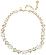 Kate Spade Special Occasion Gold-Tone Crystal Collar Necklace