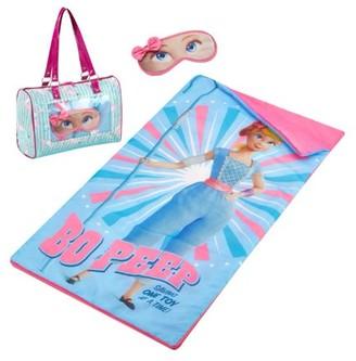 Disney Toy Story 4 Bo Peep Sleepover Purse, Slumber Bag And Eye Mask Set