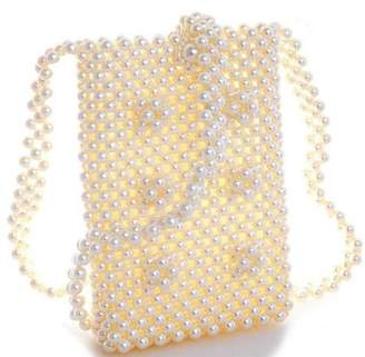 Nadya's Closet Endless Pearl Cross Body Pouch