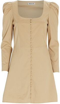 St. Roche Sandrine Cotton Mini Dress
