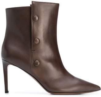 L'Autre Chose side button ankle boots
